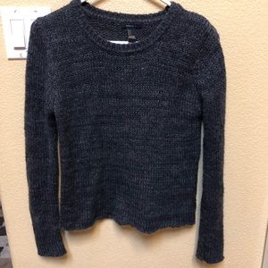 Forever 21 | Heather Gray Cable Knit Sweater